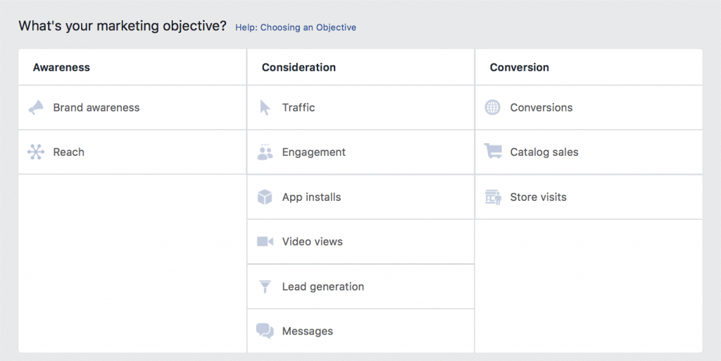 facebook-ad-objective