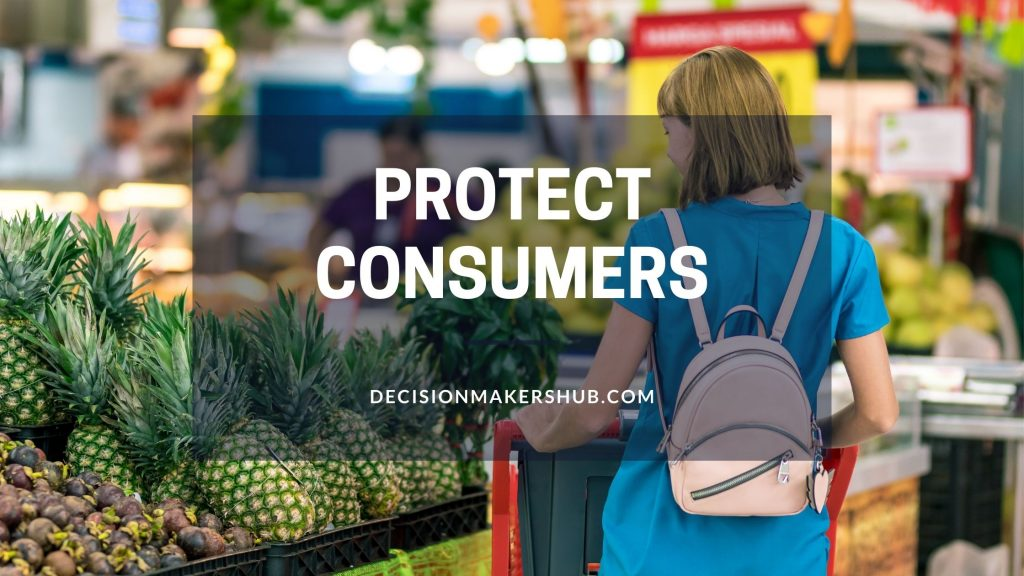 Protect Consumers