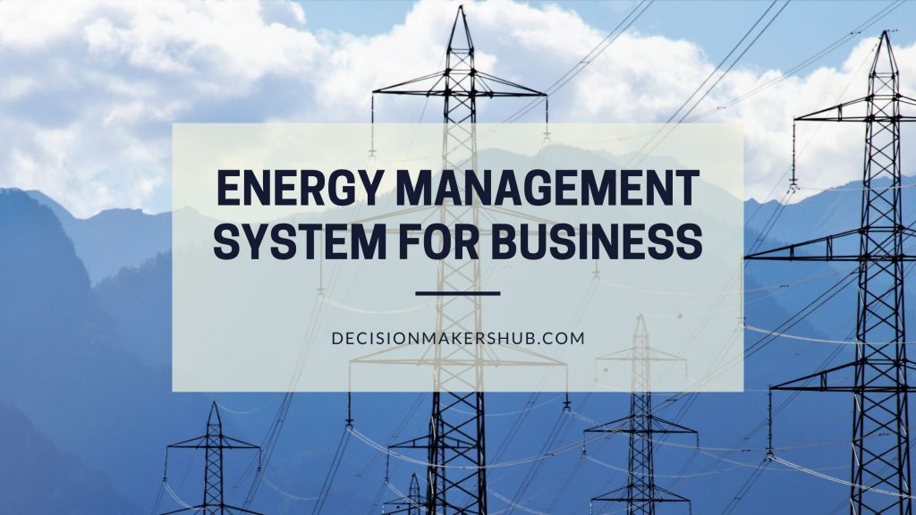 Energy Management System for business